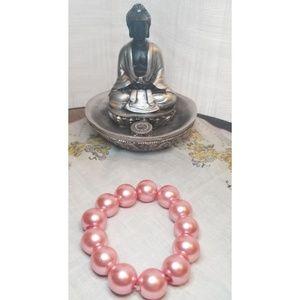 Jewelry - {Bracelet} Large Pink Pearl Bracelet